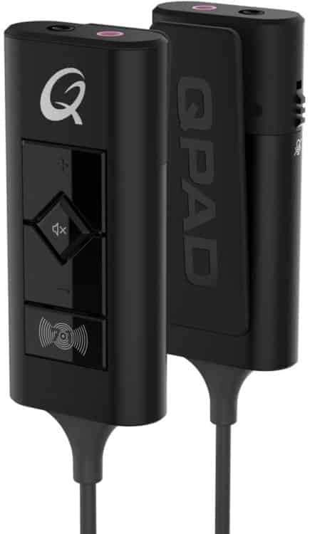 QPAD QH-95 Pro Gaming Headset Soundkarte