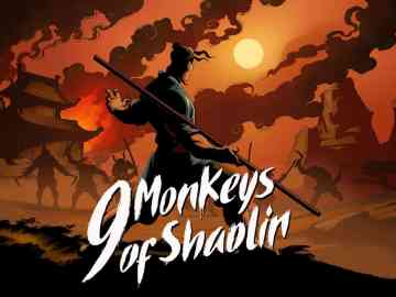 9 monkeys of shaolin keyart