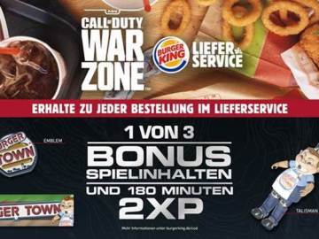 Call of Duty Burger King