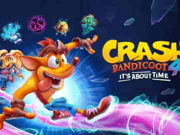 Crash Bandicoot 4 It's About Time Keyart