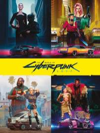 Cyberpunk 2077 Artbook Cover