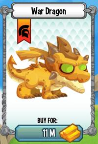 dragon city war dragon