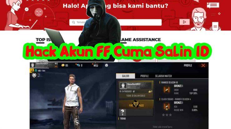 Hack Akun FF Cuma Salin ID