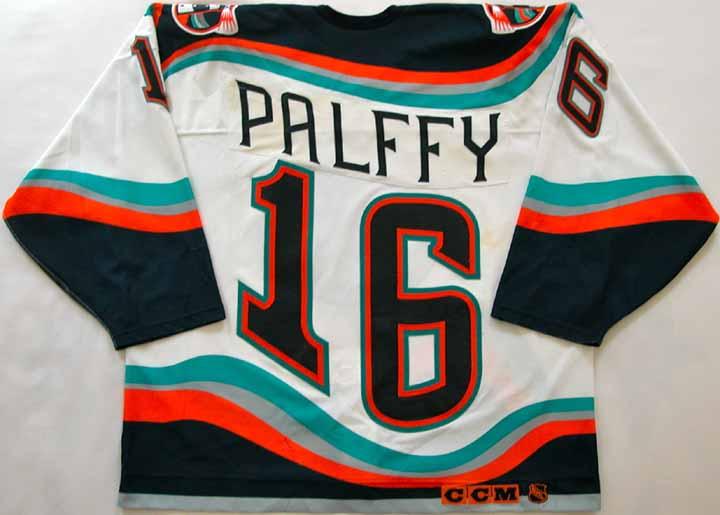 199798 Ziggy Palffy Islanders Game Worn Jersey