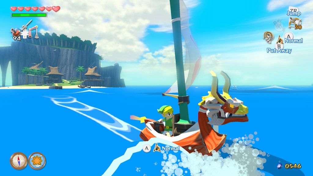 Mittlerweile Kult: The Legend of Zelda: The Wind Waker - Hier in der HD-Variante für Wii U.