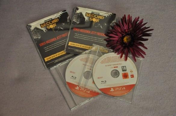 je 2x die PS4 Spiele infamous Second Son und Killzone Shadow Fall (nur für Volljährige!)