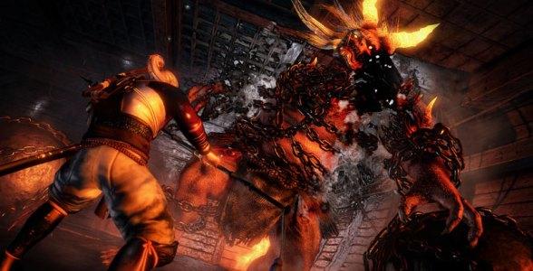 Neben menschlichen Gegnern müssen wir uns auch Oni (Dämonen) erwehren.