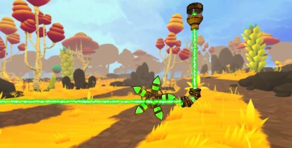 Ein Screenshot des VR-Spiels Carpe Lucem.