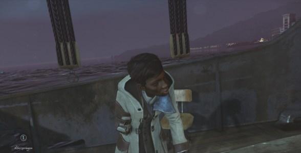 Mit dem Boot schippern wir in Dishonored 2 zu den verschiedenen Leveln.