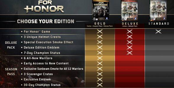 For-Honor-Editionen