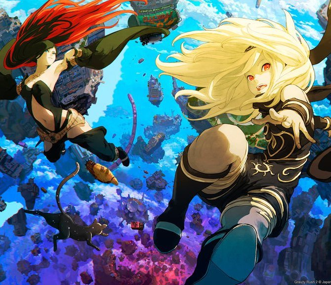 Gravity Rush 2 Header