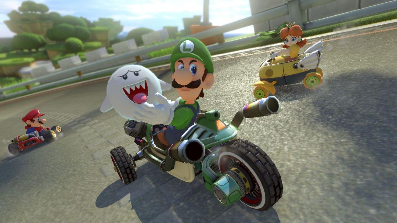 Luigi nutzt gleich den Buu-Huu Geist, um sich unsichtbar zu machen!