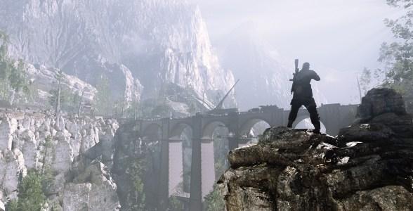 Sniper Elite 4 sieht stellenweise bombastisch aus. Besonders die Lichtstimmung gefällt.