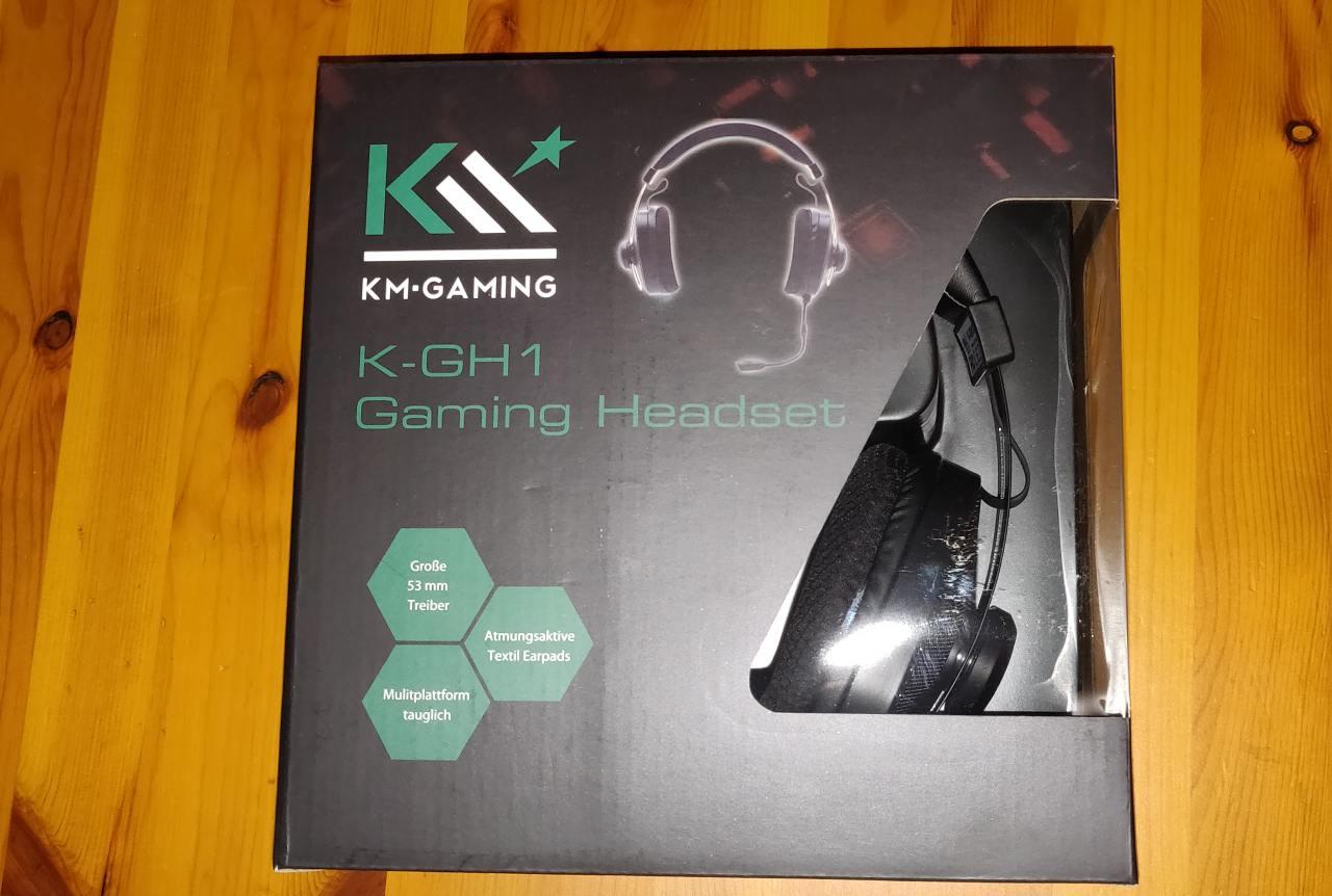 KM-Gaming K-GH1