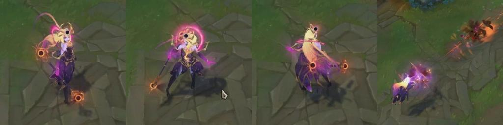 New upcoming League skin for 10.6: Dark Cosmic Lux.