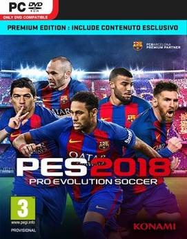 Pro Evolution Soccer 2018 (7DVD) - PC-0