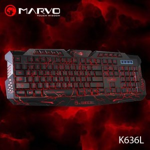 Keyboard Gaming Marvo K636L-0