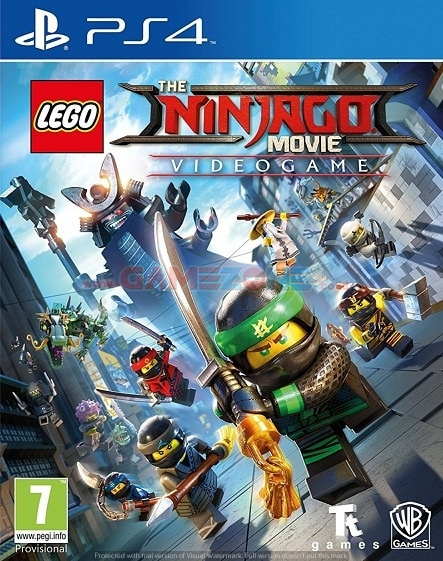 LEGO Ninjago Movie Video Game - Reg3 - PS4-0