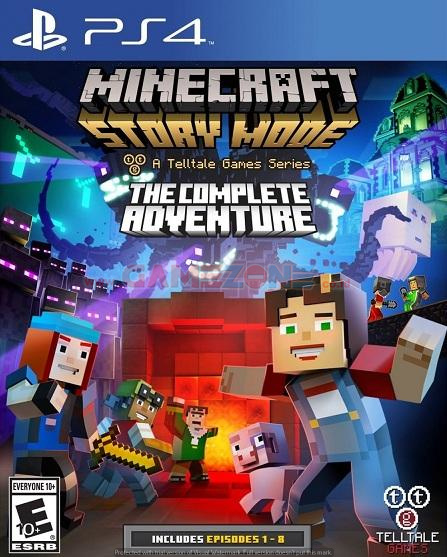 Minecraft: Story Mode - The Complete Adventure - Reg1 - PS4-0