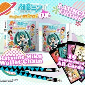 Hatsune Miku: Project Mirai DX - Launch Edition - 3DS - Reg1