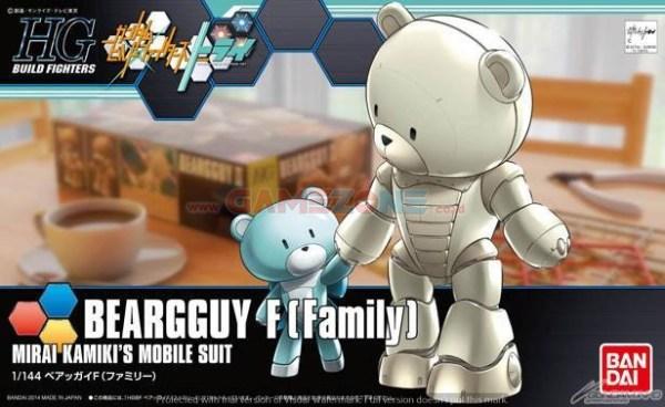 Gundam Beargguy F (Family) (HG) – Bandai-0