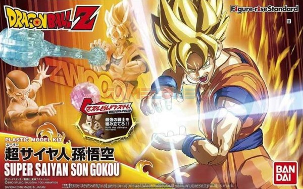 Dragon Ball Z Super Saiyan Son Gokou (HG) – Bandai-0