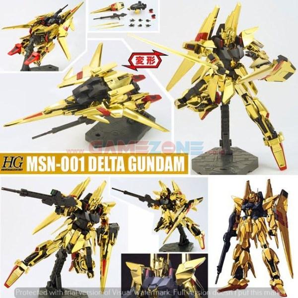 Gundam Delta MSN-001 (HG) - Daban Model-0