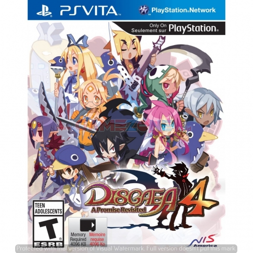 Disgaea 4: A Promise Revisited - Reg1 - PS Vita-0