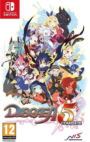 Disgaea 5 Complete - Reg2 - Switch-0