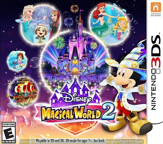 Disney Magical World 2 - Reg1 - 3DS-0