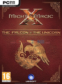 Might and Magic X Legacy The Falcon and The Unicorn (DVD) - PC-0
