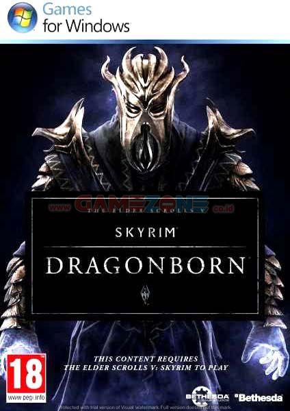 The Elder Scrools V : Skryim Dragon Born (DVD) - PC-0