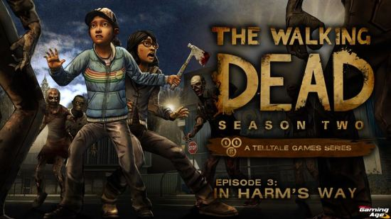 The Walking Dead In Harms Way_KeyArt_Logo