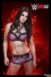 WWE 2K15 Paige