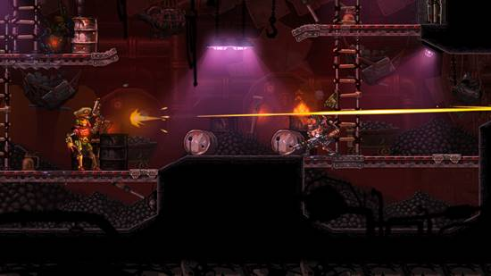 SteamWorld Heist screenshot 05