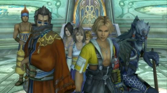 final fantasy X HD 001