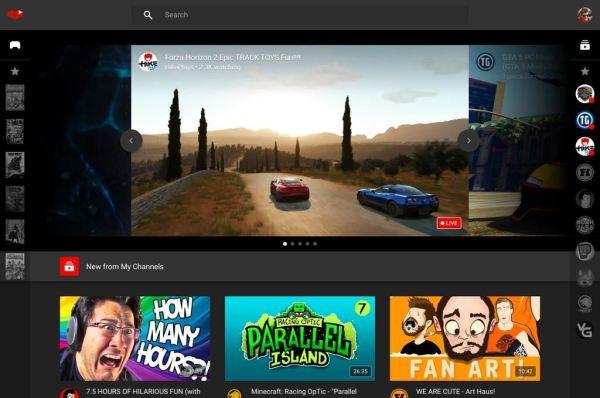 YouTube Gaming_3