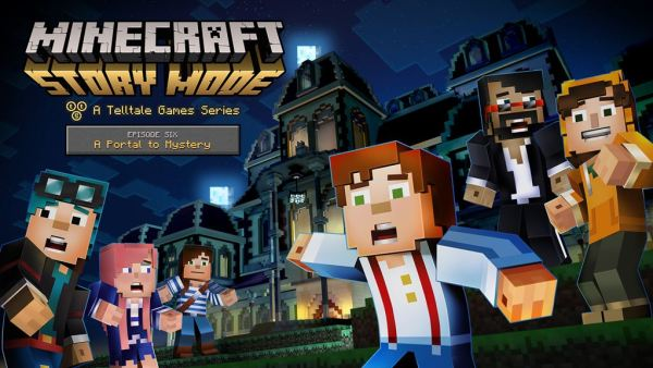 Minecraft Story Mode-MCSM_106_Key_Art