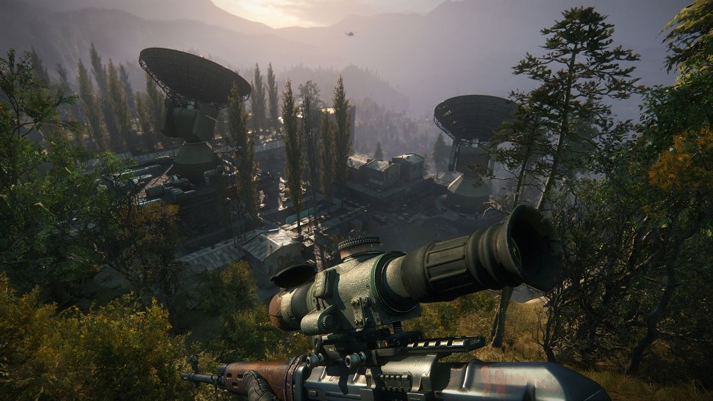 Sniper: Ghost Warrior 3 has you playing as a Marine sniper in the country  of Georgia, and that's about all you need to know.