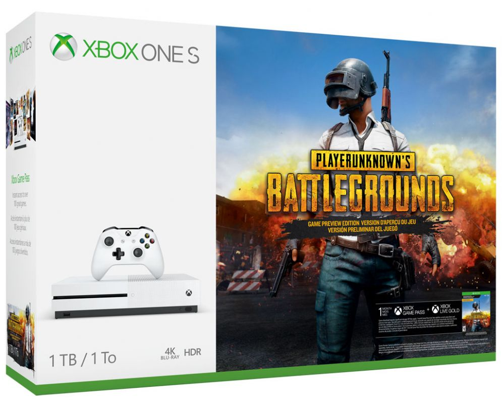 PUBG Xbox One S bundle solidifies phenomenon