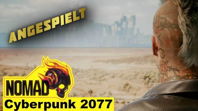 CP 2077 Angespielt Nomad babt