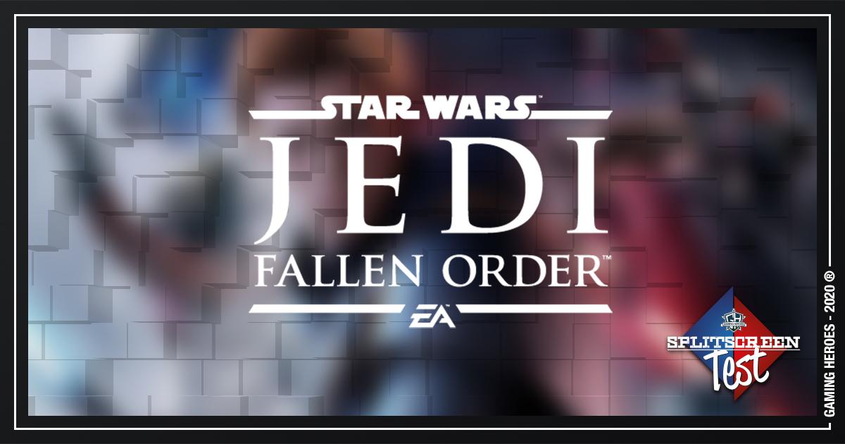Star Wars: jedi - Fallen Order - Splitscreen Test #19