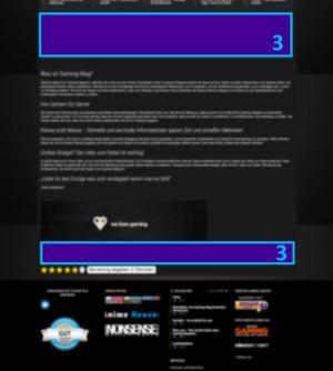 Preisliste Werbebanner Werbung Banner Anzeige Kategorie 3
