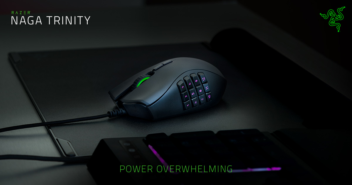 Tech Review: Razer Naga Trinity Gaming Mouse | GamingBoulevard