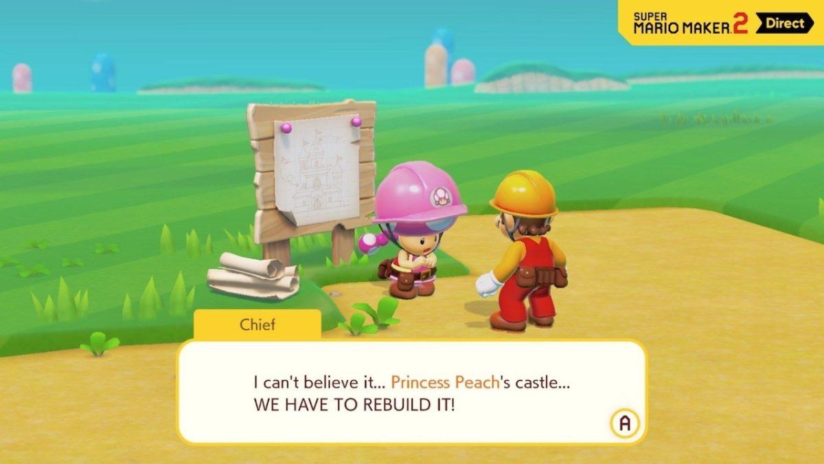 Preview: Super Mario Maker 2 | GamingBoulevard