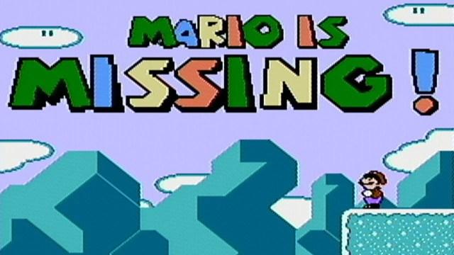 MarioisMissingNES