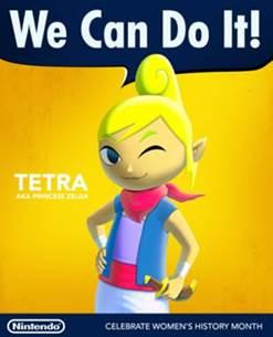 Nintendo Celebrates Women's History Month