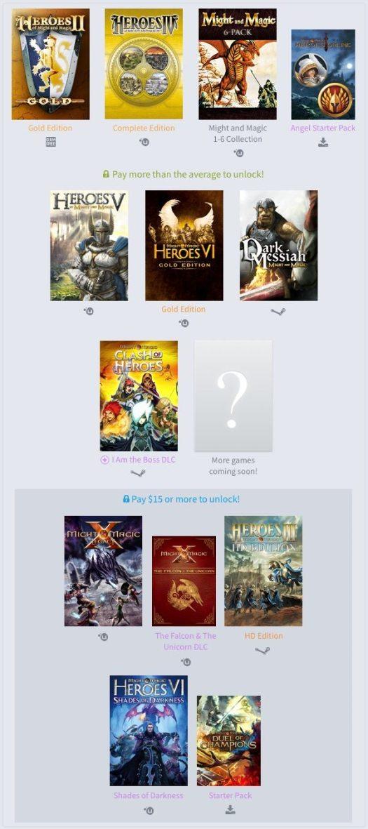 Humble Might & Magic Bundle Gaming Cypher