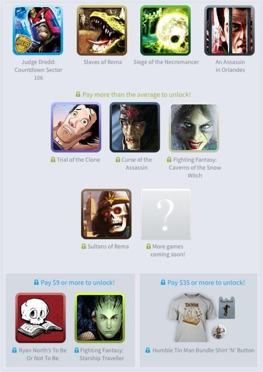 Humble Tin Man Games Mobile Bundle Gaming Cypher