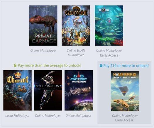 Humble Weekly Bundle Multiplayer Mayhem Now Live
